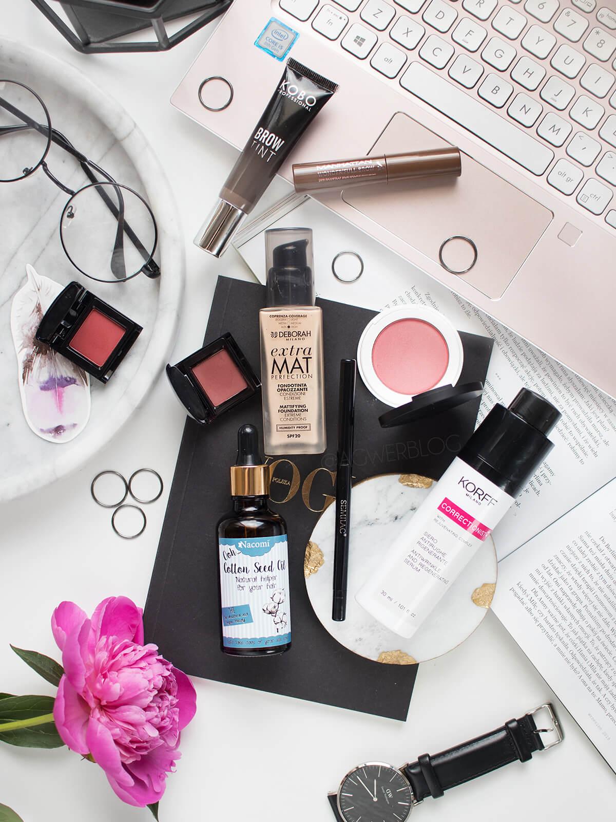 ulubieńcy kosmetyczni maja 2019