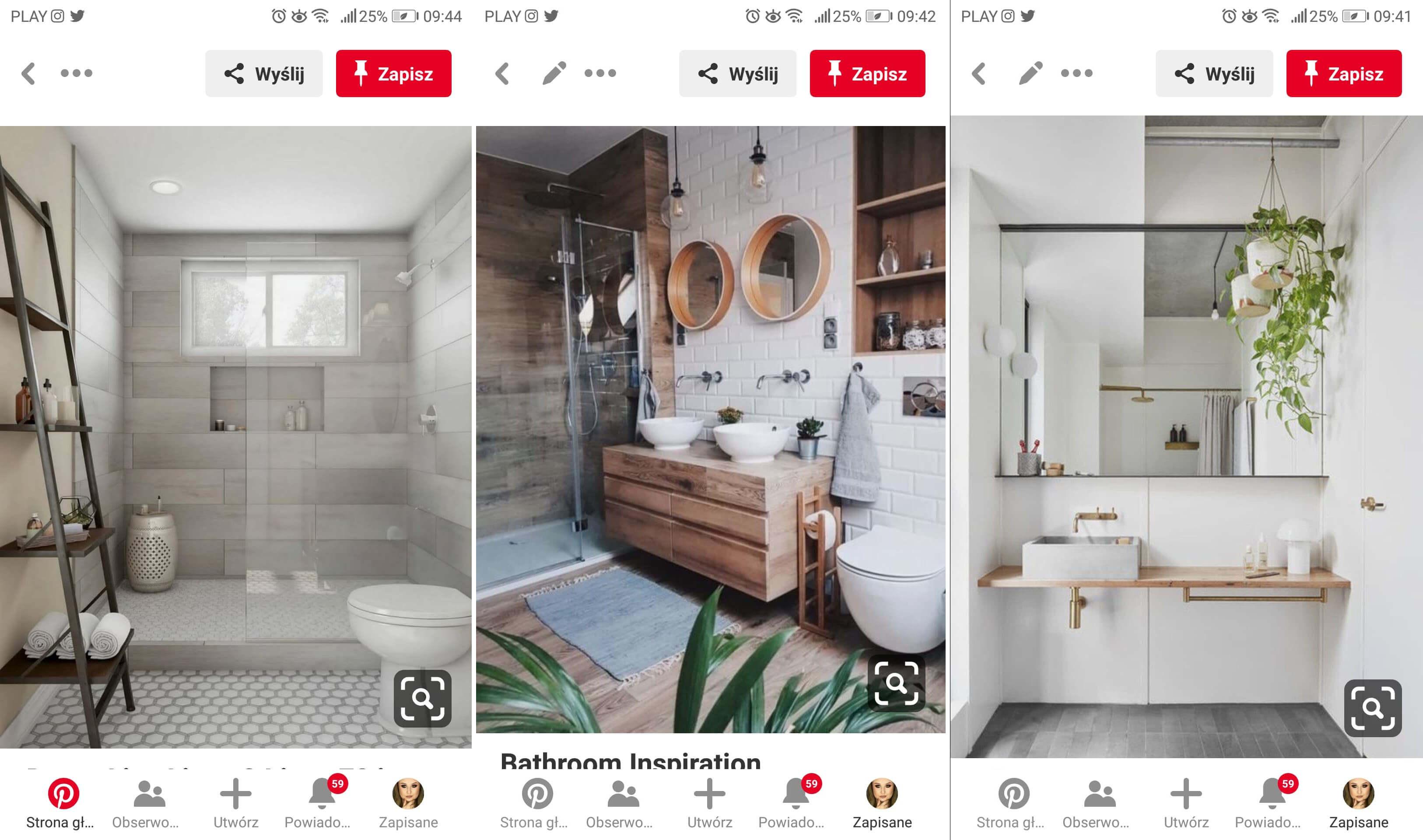 inspiracje na łazienkę z prysznicem