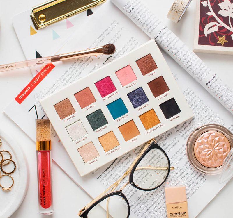 Makijaż dzienny – trzy propozycje paletką Nabla Secret Palette