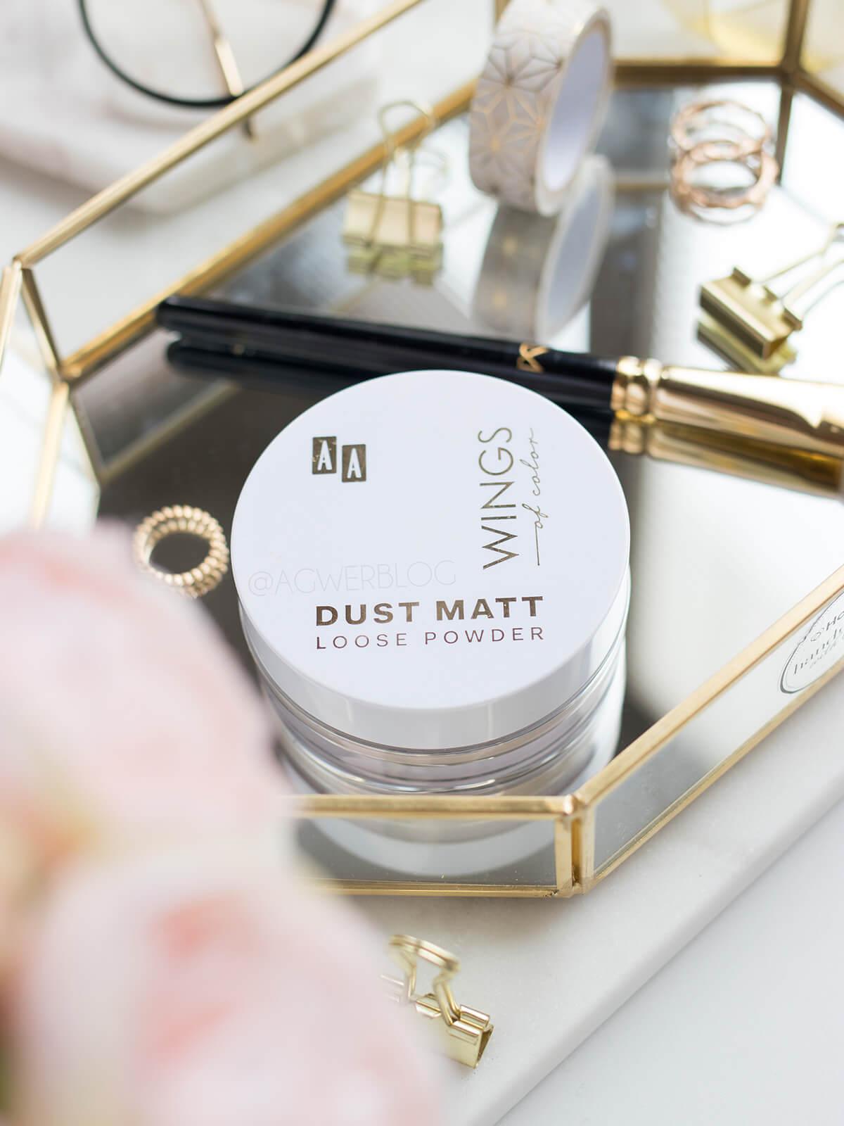 AA Dust Matt Loose Powder recenzja