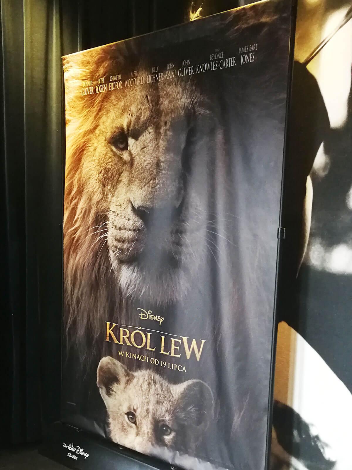 niedzielnik król lew