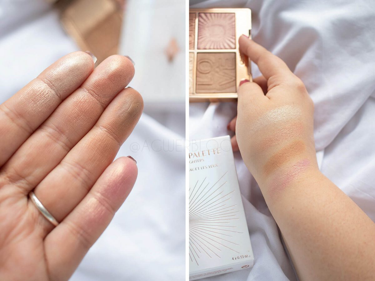 CHARLOTTE TILBURY lightgasm swatches