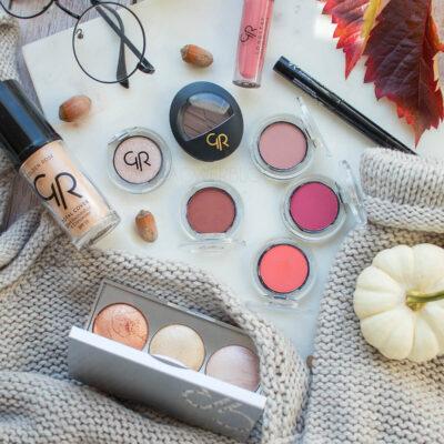 Jesienny makijaż z Golden Rose – krok po kroku