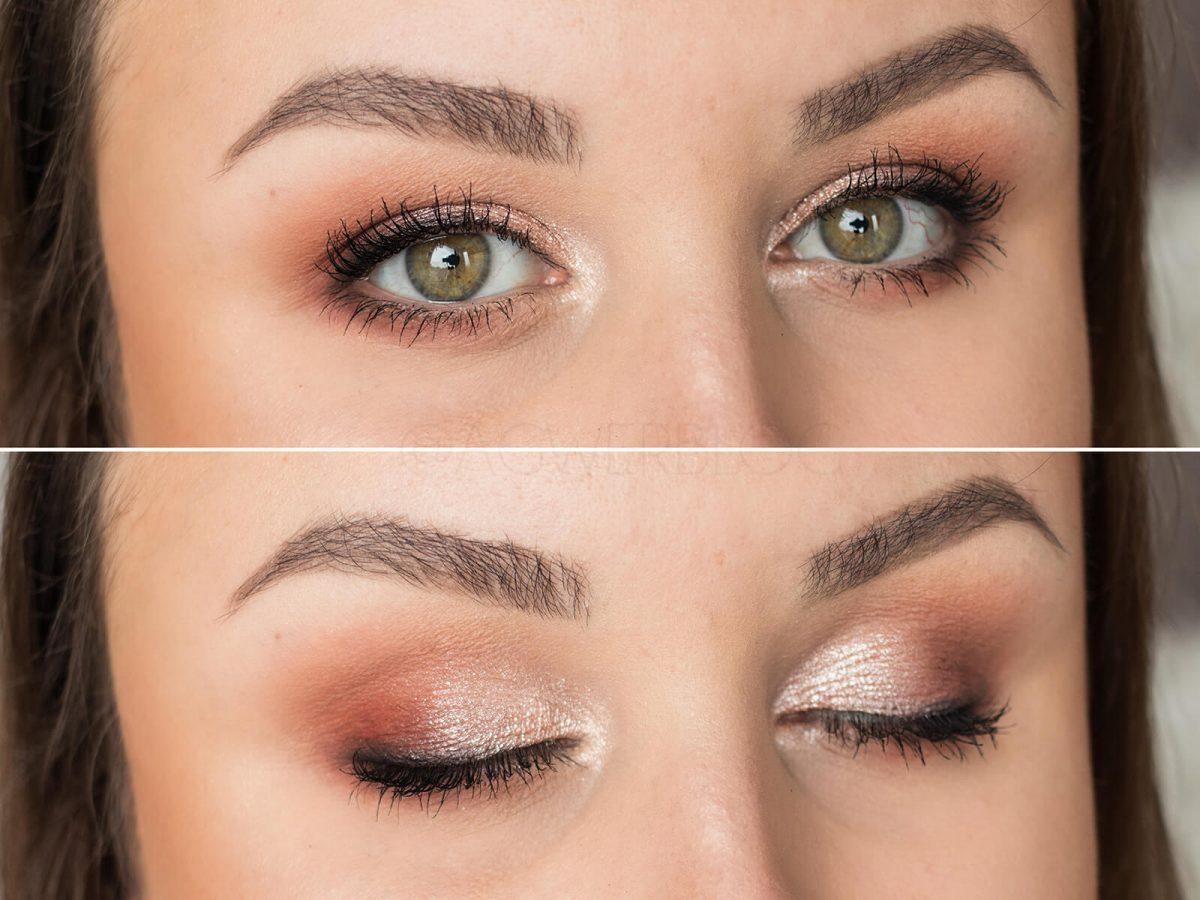 makijaż upiększający dla zielonych oczu