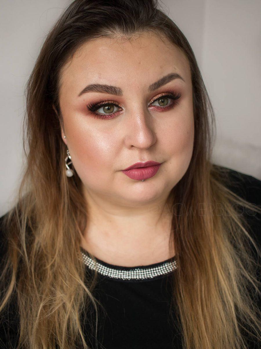 makijaż sylwestrowy 2019