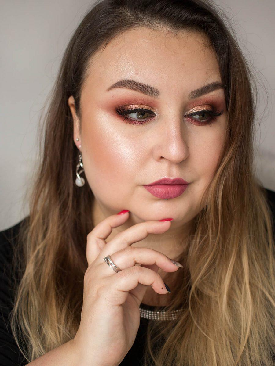 delikatny makijaż sylwestrowy