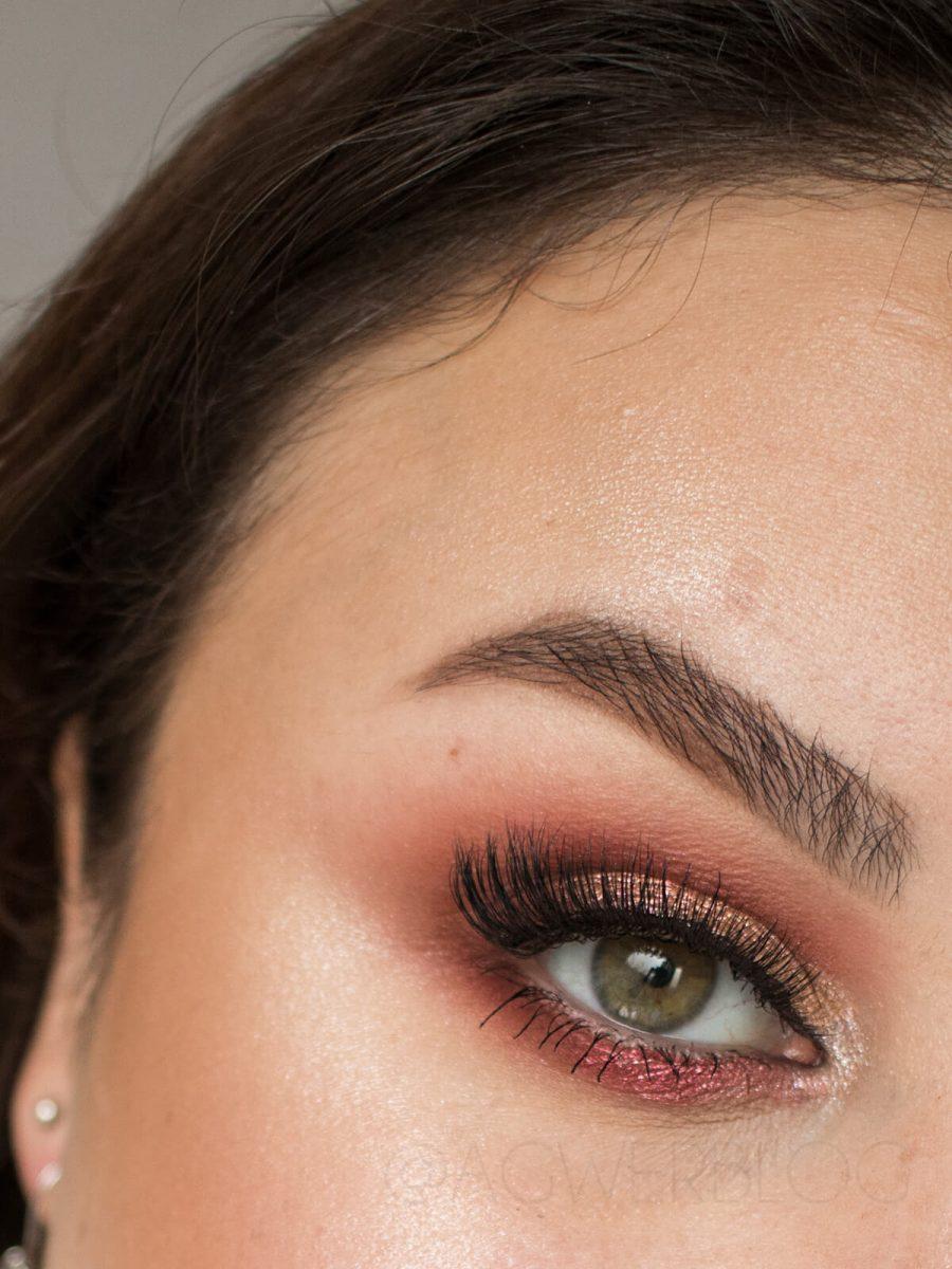 delikatny makijaż sylwestrowy 2019