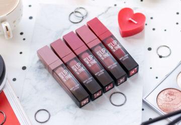 my matte lip ink golden rose swatches