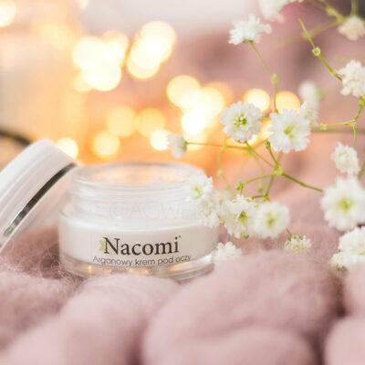 Arganowy krem pod oczy Nacomi – hit czy kit?