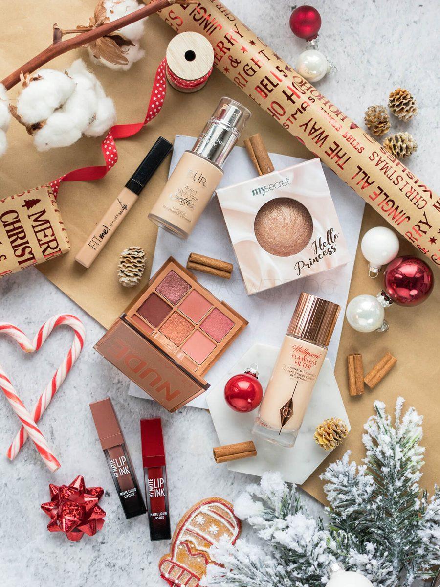 makijaż świąteczny kosmetyki