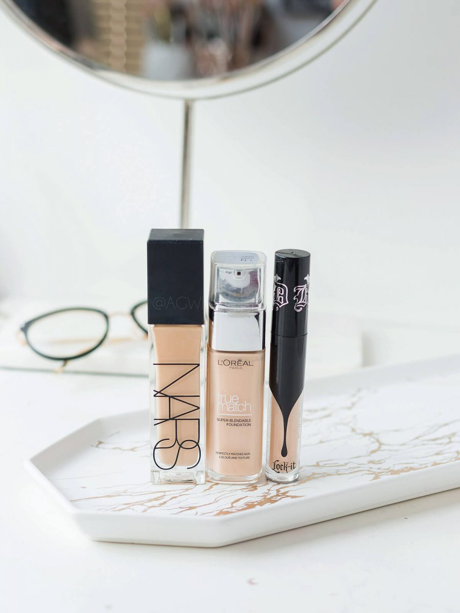 Rozczarowania kosmetyczne 2019 podkład