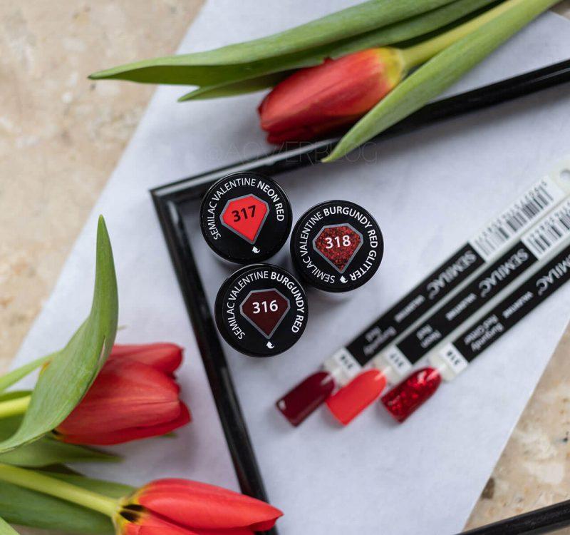 Semilac kolekcja Valentine – lakiery, w których łatwo się zakochać