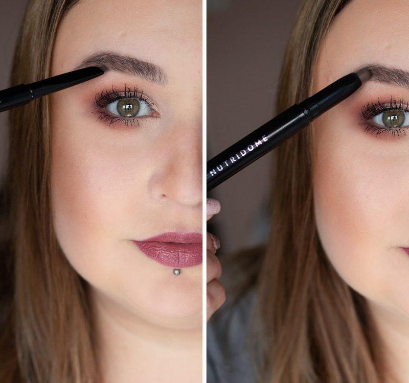 Mój codzienny makijaż brwi z Nutridome + super trik!