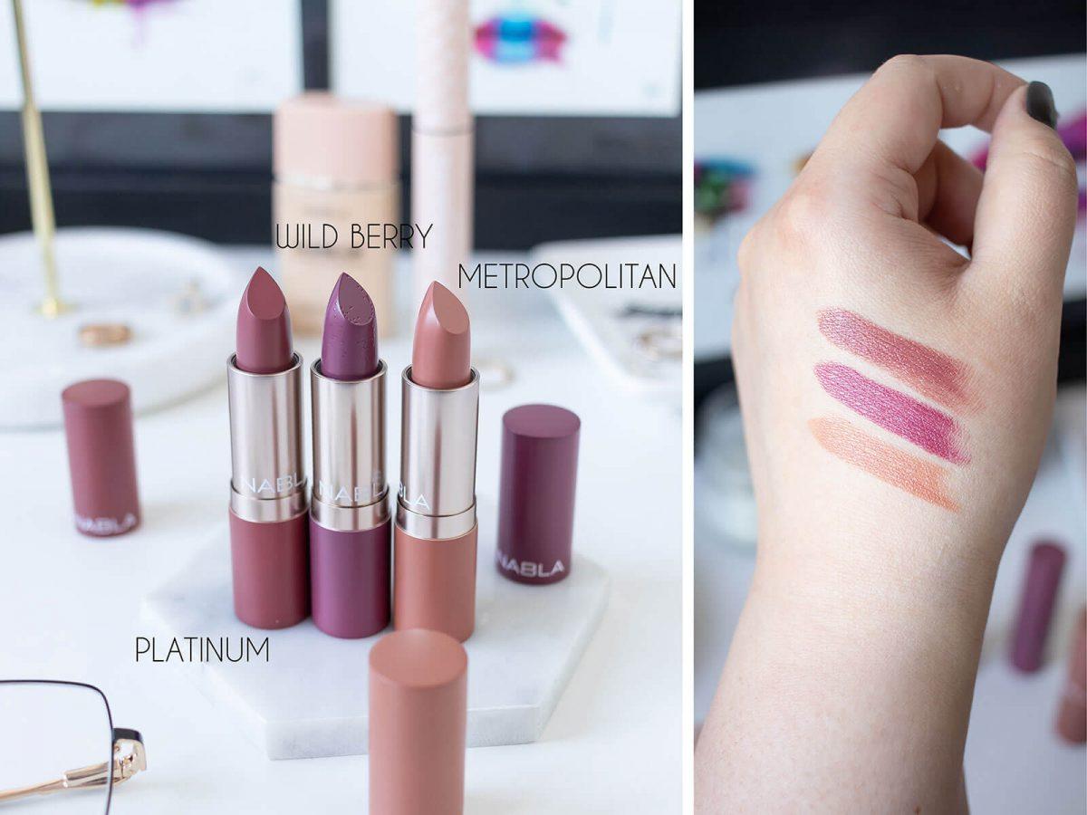 nabla cosmetics wild berry