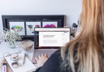 jak przygotować post na bloga