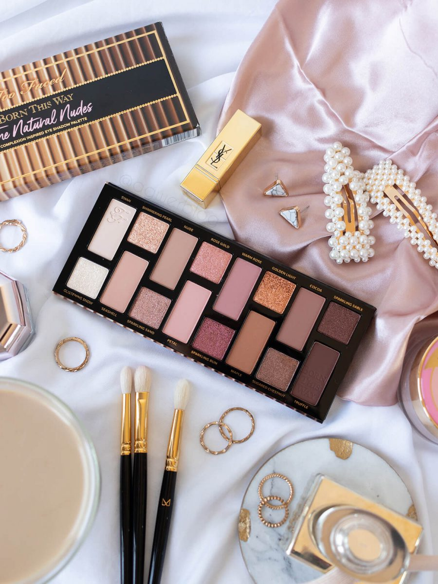 paletka Too Faced The Natural Nudes recenzja