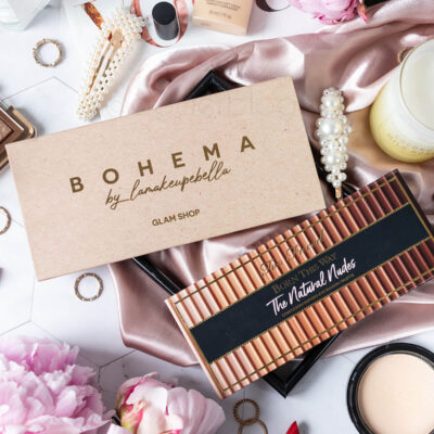 Glam shop Bohema vs. Too Faced The Natural Nudes