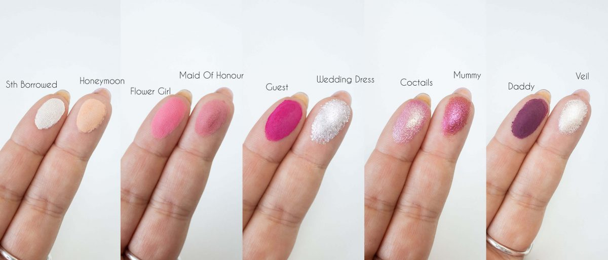 Wedding Vibes miyo swatches