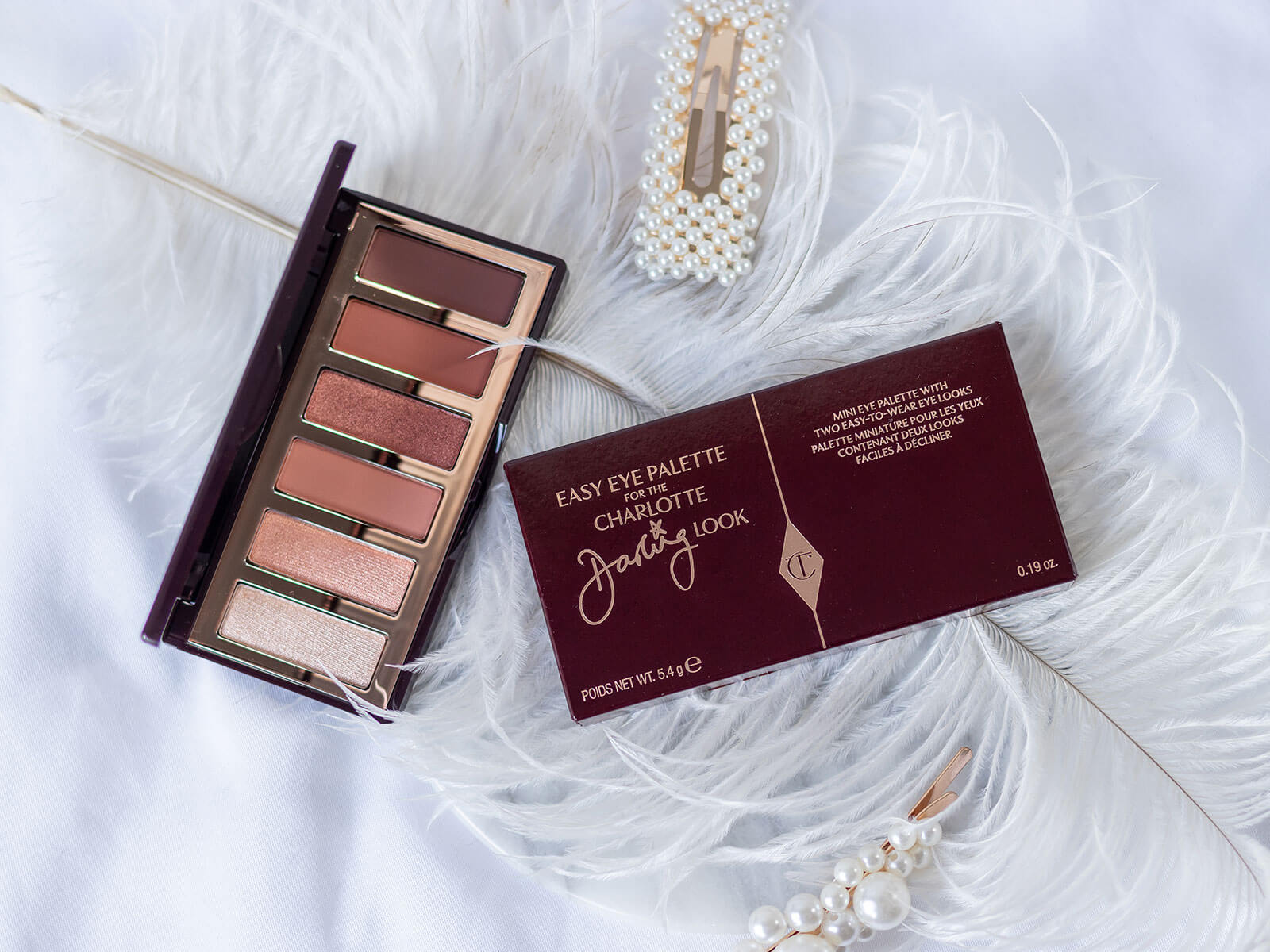 Charlotte Tilbury Easy Eye Palette for the Charlotte Darling Look