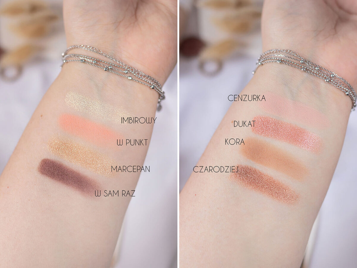 glam shop nude swatche
