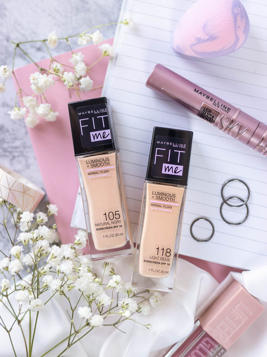 Maybelline Fit Me Luminous and smooth rossmann