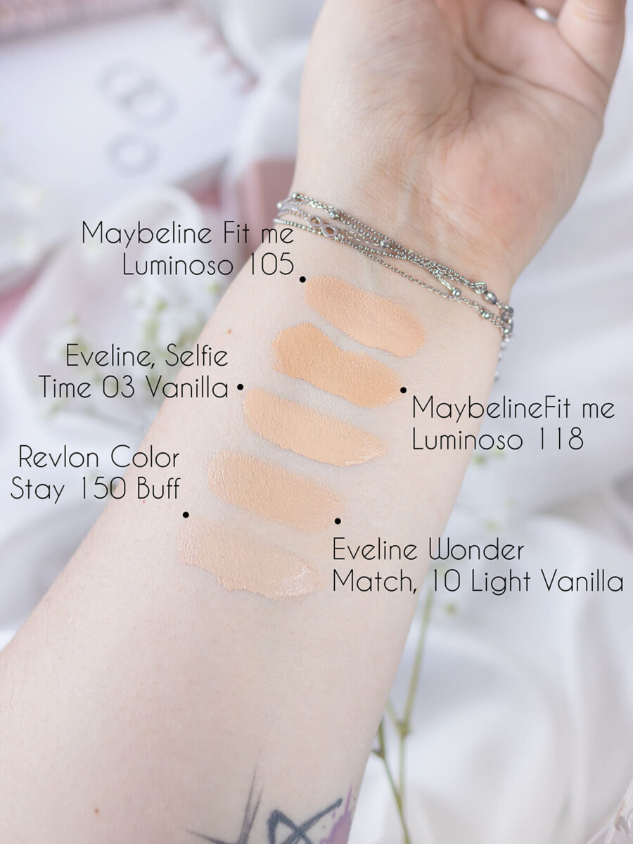 Maybelline Fit Me Luminous 105