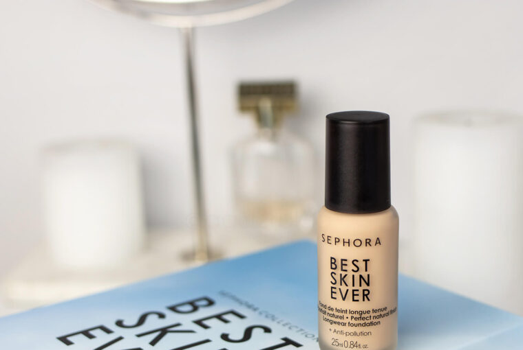 nowy podkład Sephora Best Skin Ever blog