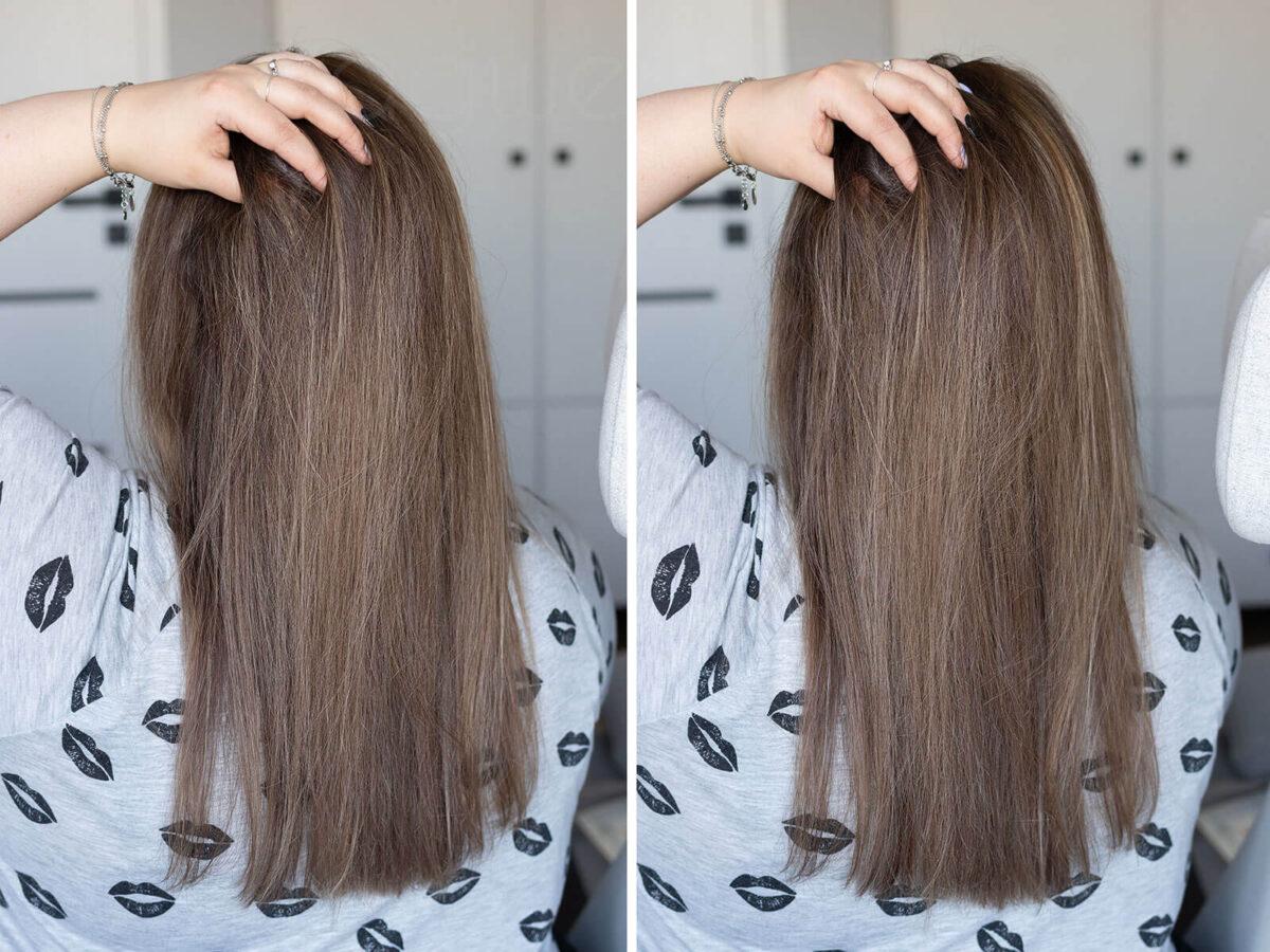 jak ochłodzić kolor włosów krok po kroku