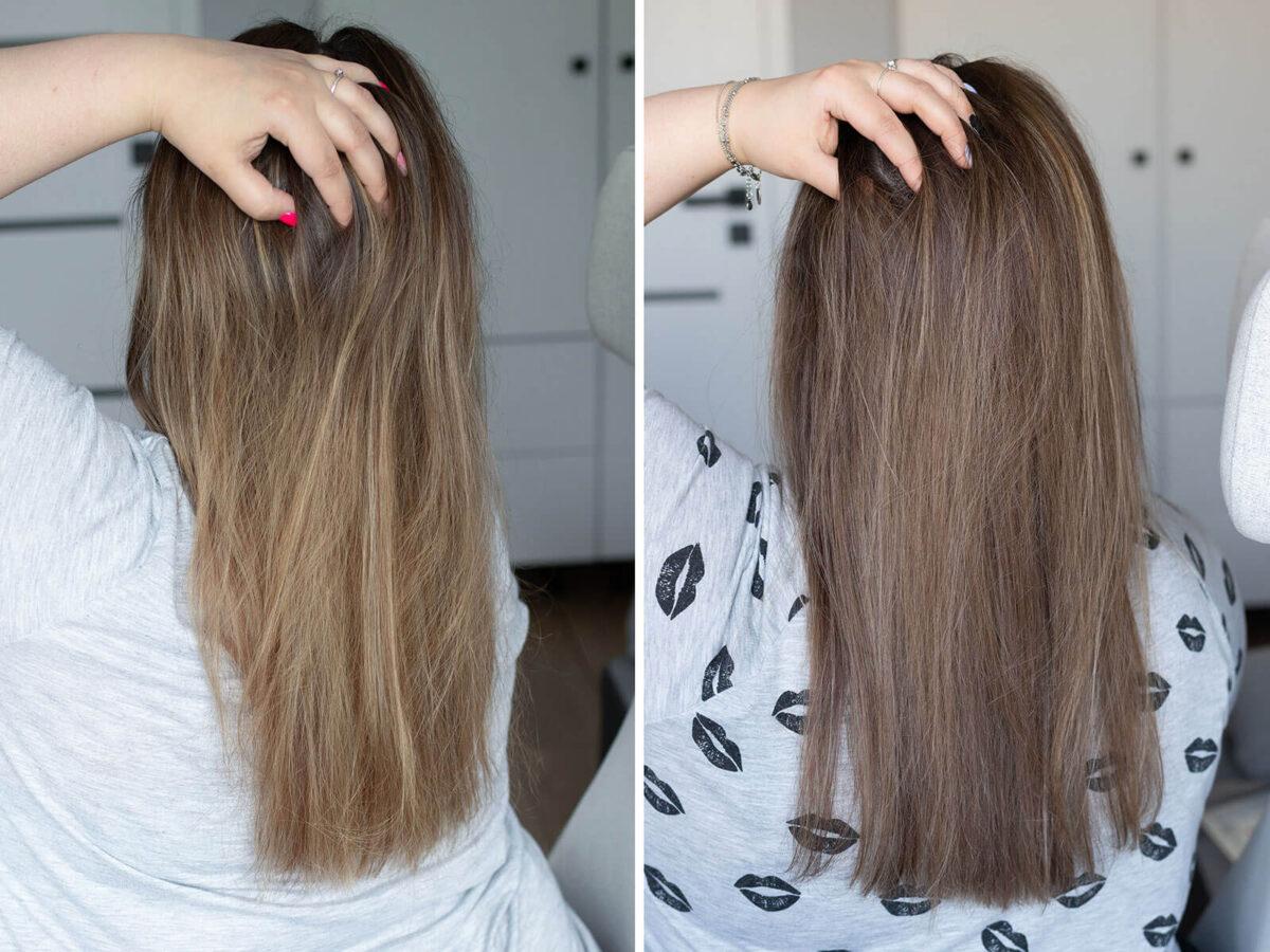 jak ochłodzić kolor włosów w domu