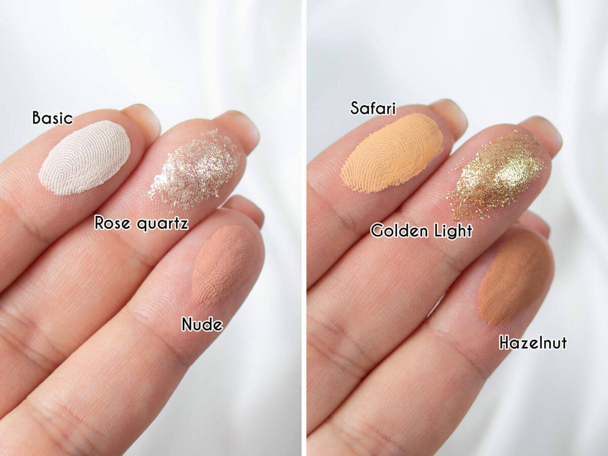 mexmo nude fantasy swatches