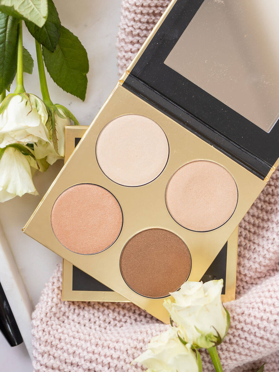 Kobo Professional Face palette Golden Sand highlighter NEW