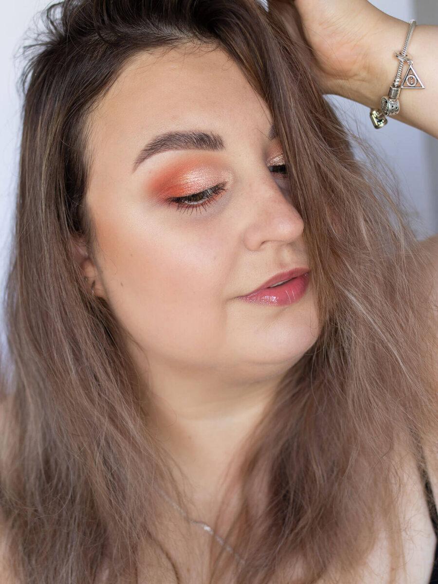 letni makijaż oczu