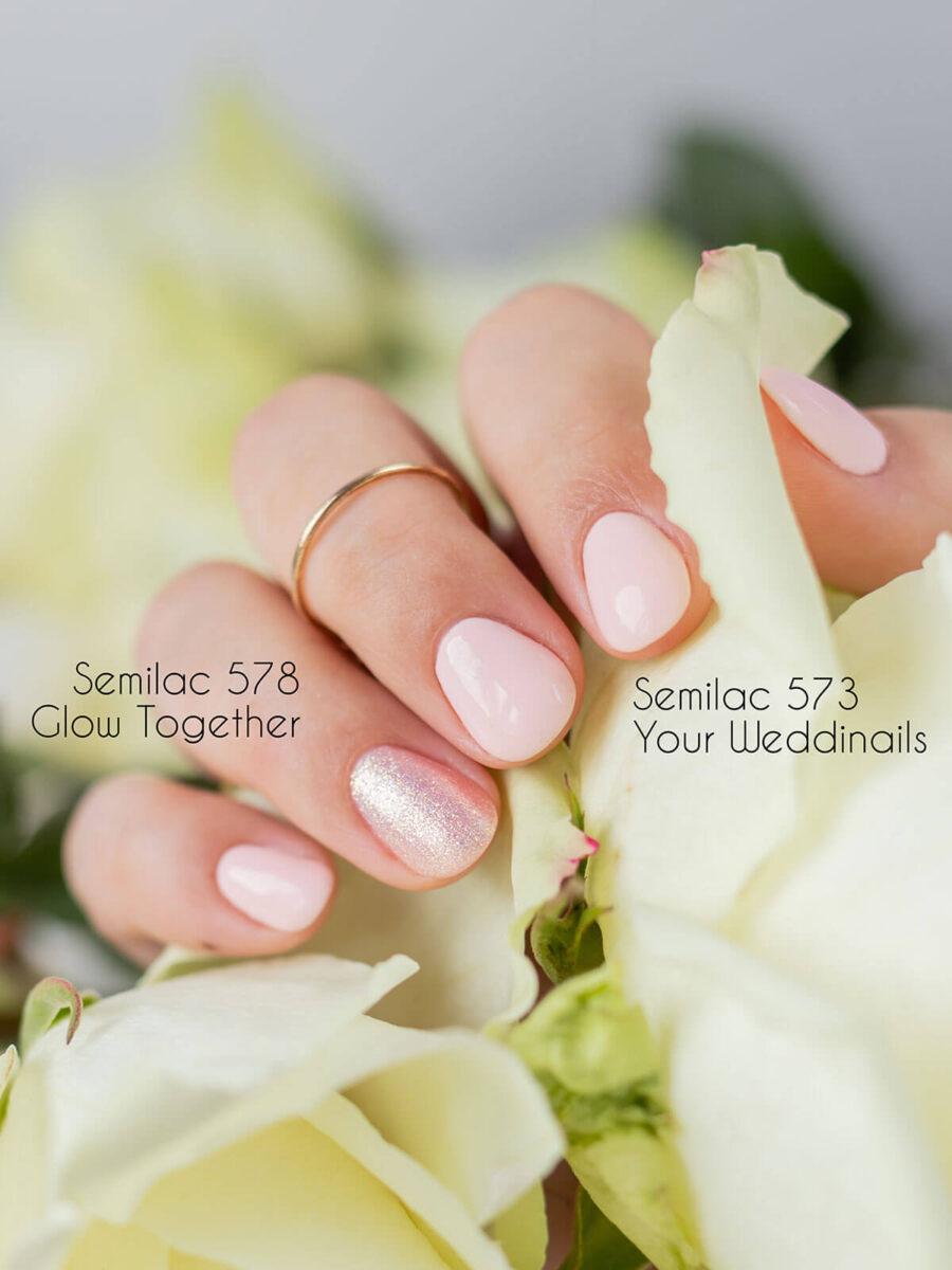 semilac 573 your weddinails