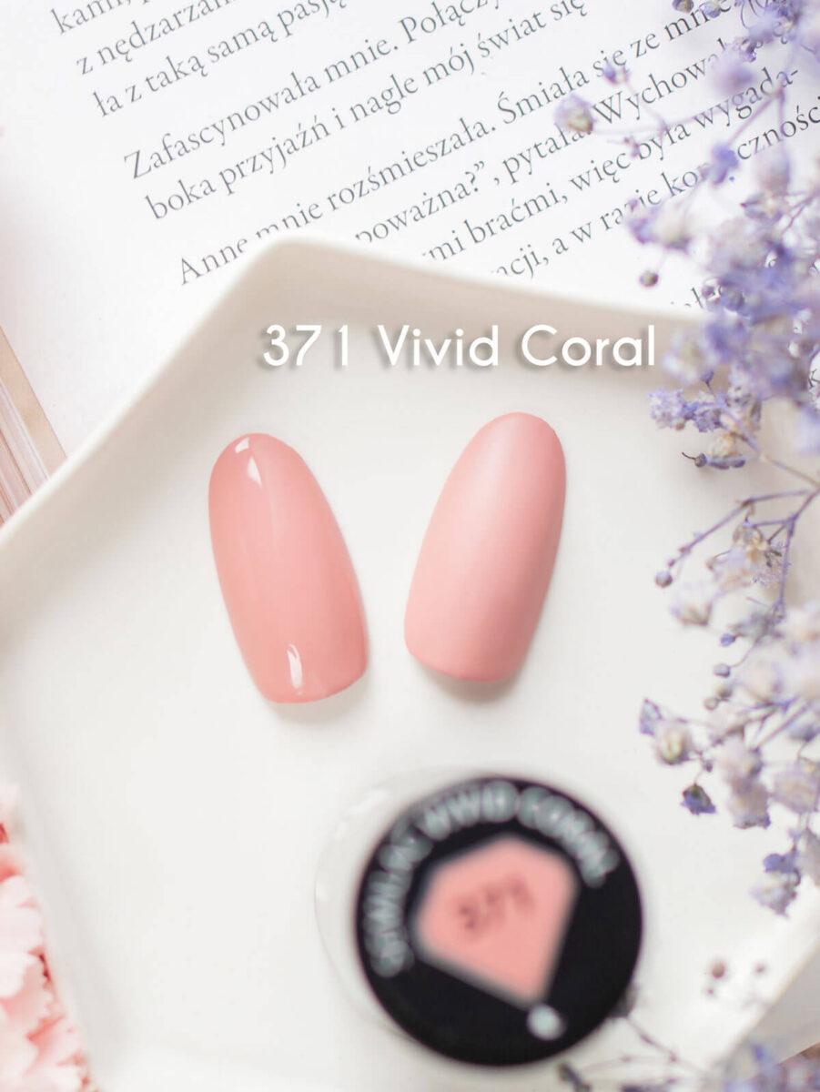Semilac 371 vivid coral