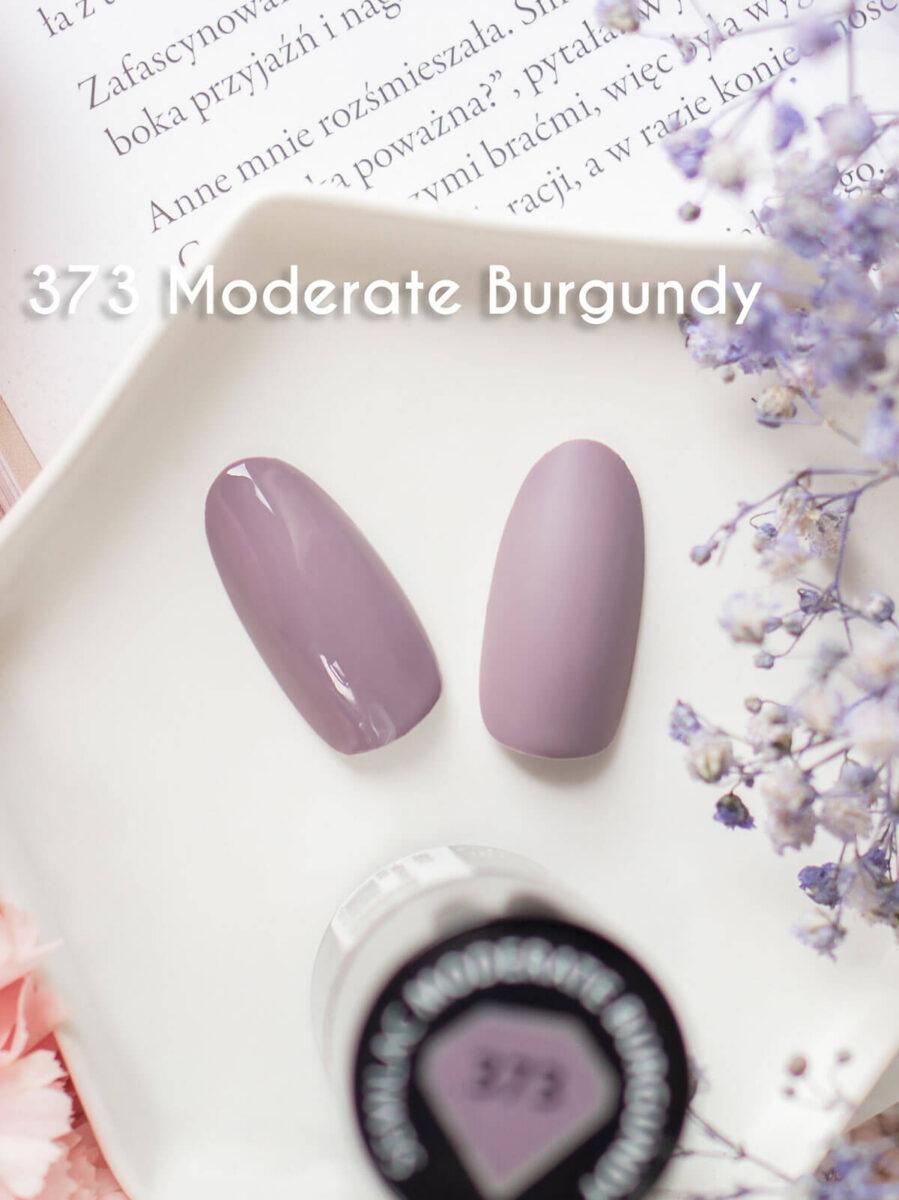 semilac 373 moderate burgundy