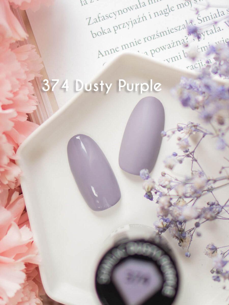 Semilac 374 Dusty Purple